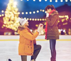アイススケートプロポーズプラン